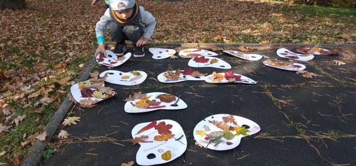 Motýlci malují s barvami podzimu